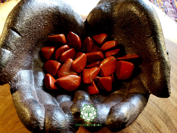 Red Jasper small tumbled stone .75 inch