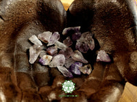 Amethyst Points Xsmall rough crystal .5 inch