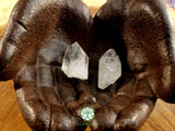 Quartz Point small/medium thick rough crystal 1.5 inches