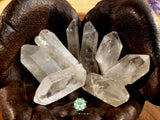 Quartz Point large thin rough crystal 2 inches