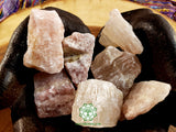 Watermelon Calcite (Pink Calcite) large rough crystal 1.75 inches
