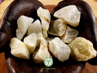 Watermelon Calcite (light green) medium rough crystal 1.5 inches