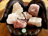 Watermelon Calcite (Pink Calcite) medium rough crystal 1.5 inches