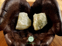 Watermelon Calcite (light green) Xlarge rough crystal 2 inches