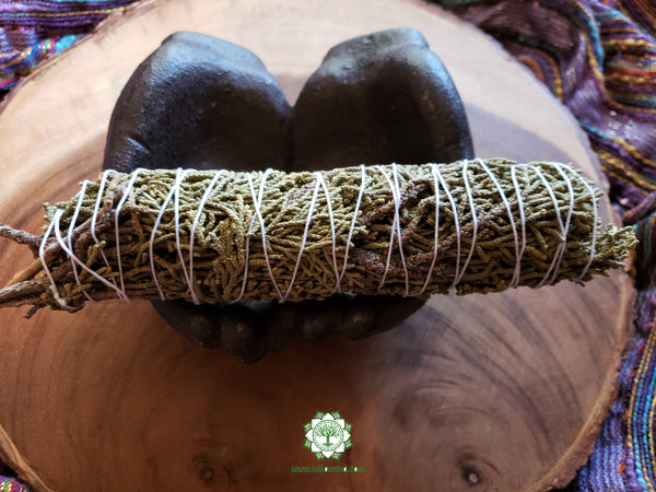 Large Juniper smudge stick 7-8 inches