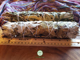 XL California White Sage with Yerba Santa (Salvia Apiana & Eriodictyon Californicum) Bundle 9-10 inches