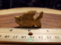 Small Hand-Carved Pakistani Onyx Fish 1.75 inches long (POA38)