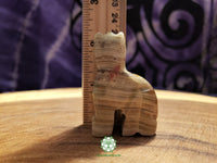Small Hand-Carved Pakistani Onyx Cat 2 inches tall (POA41)