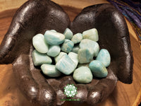 Amazonite medium tumbled crystal 1 inch