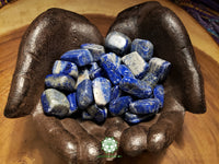 Lapis Lazuli medium/large tumbled stone 1 inch