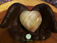 Pakistani Onyx Heart 2.75x2.75 inches (POH02)