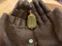 Nephrite Jade Wire Wrapped Pendant (WW07)