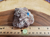 Cavansite on Matrix 3x2.3x1.8 inches (Cav05)