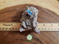 Cavansite on Heulandite Matrix 3.5x2.5x1.7 inches (Cav06)