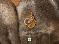 Agate Wire Wrapped Pendant 1.2x.8 inches (WWP101)