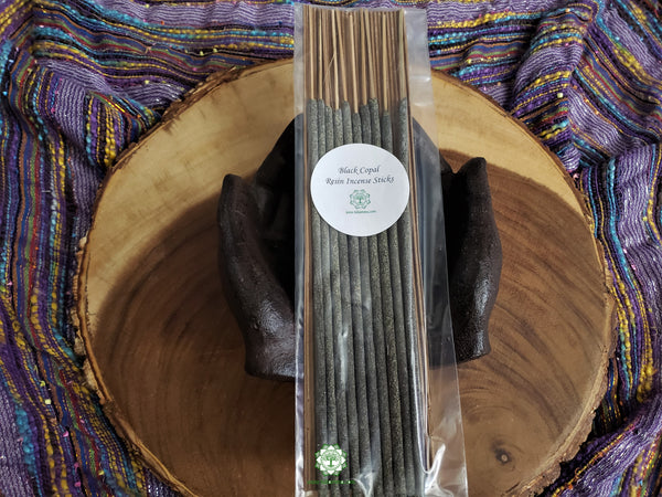 Black Copal Resin Incense Sticks 10 pack