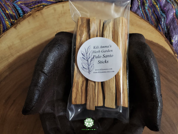 Palo Santo Holy Wood (Bursera Graveolens) 5 pack