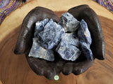 Sodalite large rough stone 1.75 inches