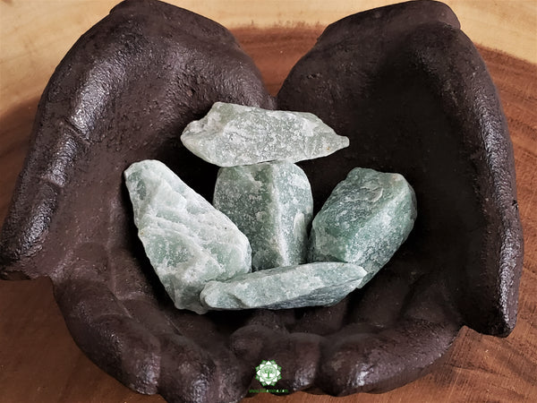 Green Aventurine Large rough crystal 1.75-2 inches