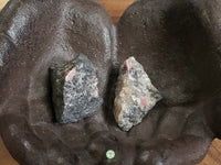 Rhodonite large rough stone 1.75 inches