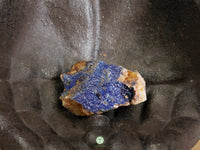 Azurite on matrix large rough crystal 2 x 1.6 x .8 inches (Az05)