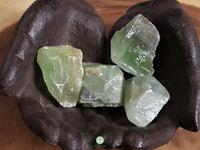 Green Calcite xl rough crystal 2 inches
