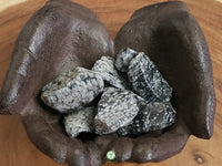 Snowflake Obsidian medium/large rough crystal 1.75 inches