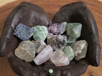 Rainbow Fluorite small/medium rough crystal 1.25 inches