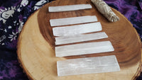 Selenite Power Wand and Charging Base 5x1 inch