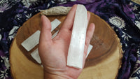Selenite Power Wand and Charging Base (5x1.5 inch)
