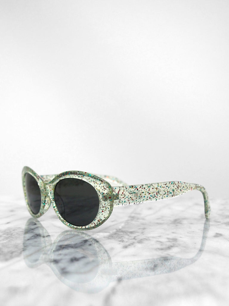 Sunglasses - Back Seat / Crystal Glitter