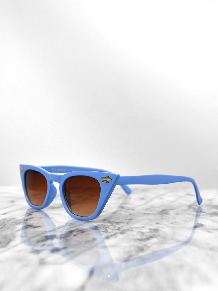 Sunglasses - Country Side / Light Blue