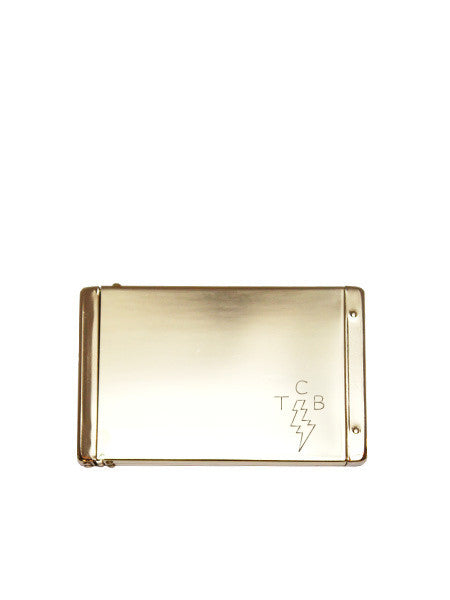 IGWT - Flip Top Card Case / TCB / Brass