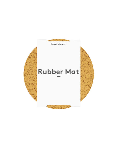 "Most Modest - 7"" Rubber Mat / Marbled Gold"