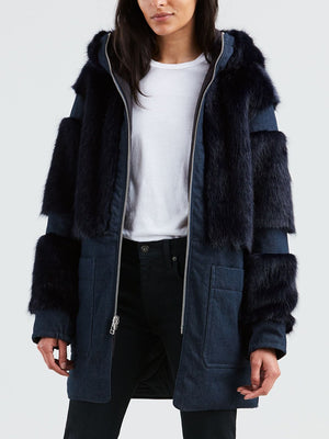 Levi's Made & Crafted - Voyager Coat / Boro Blue