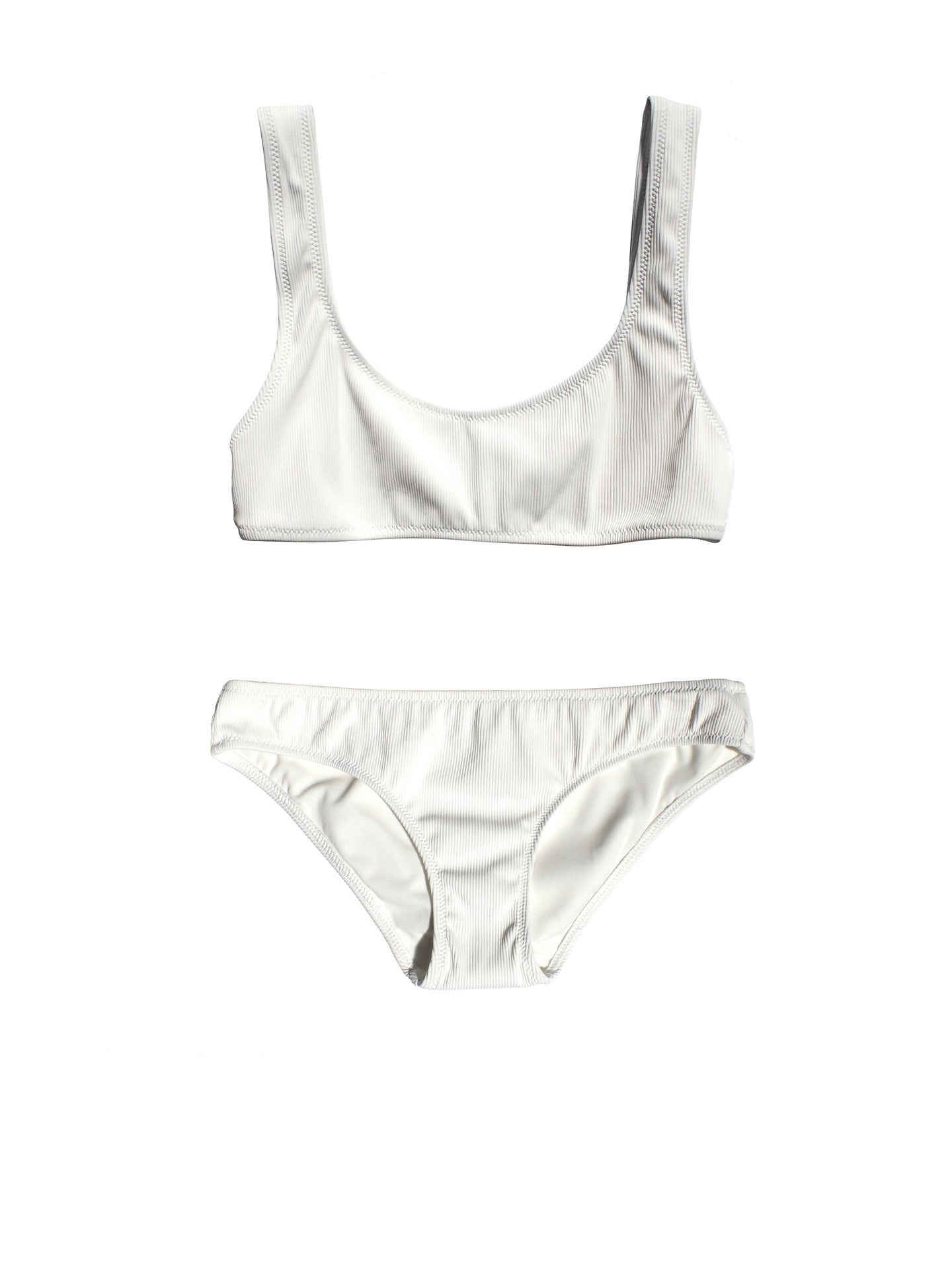 Solid & Striped - The Elle Bikini / Ivory Rib