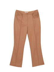 Moyenne Trousers / Tan Wool