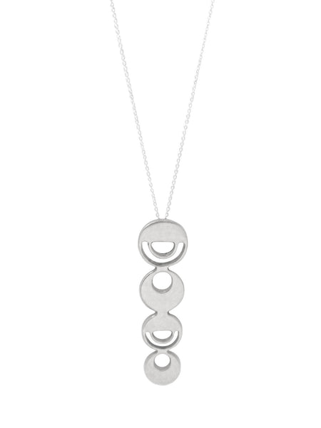 Phases Necklace / Silver