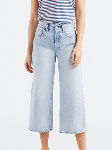 Levi's - High Water Wide Leg / Throwing Shade