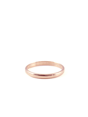 2mm Classic Commitment Band / 14k Rose Gold