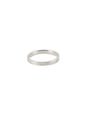 2mm Square Commitment Band
