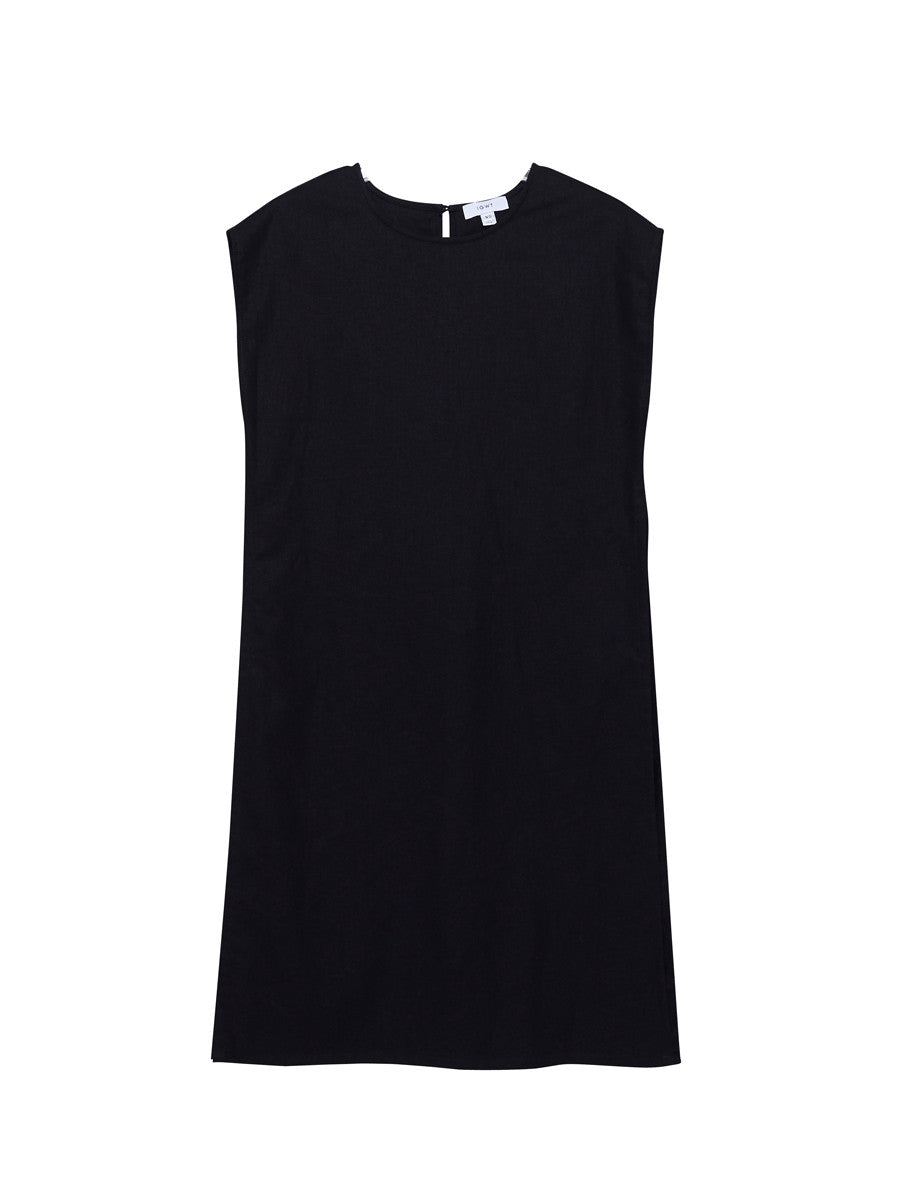 Ray Tunic / Black Linen