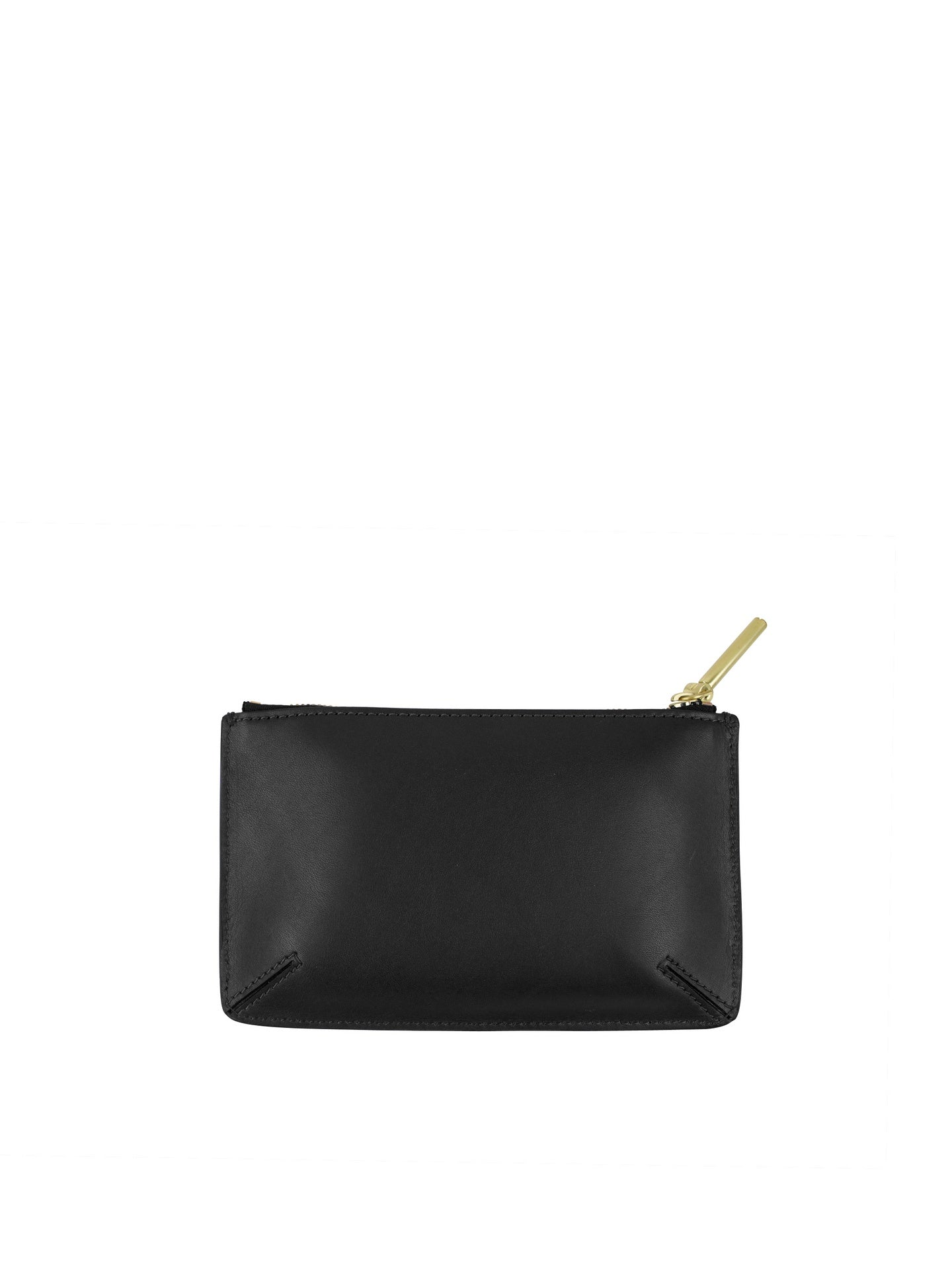 Flynn - Minty Zipper Pouch / Black