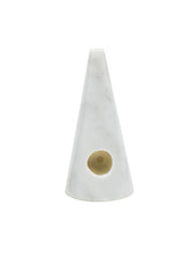 Fredericks & Mae - Marble Pipe / White