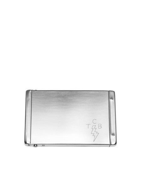 IGWT - Flip Top Card Case / TCB / Silver