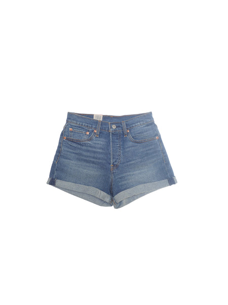 Levi's - Wedgie Short / Blue Denim