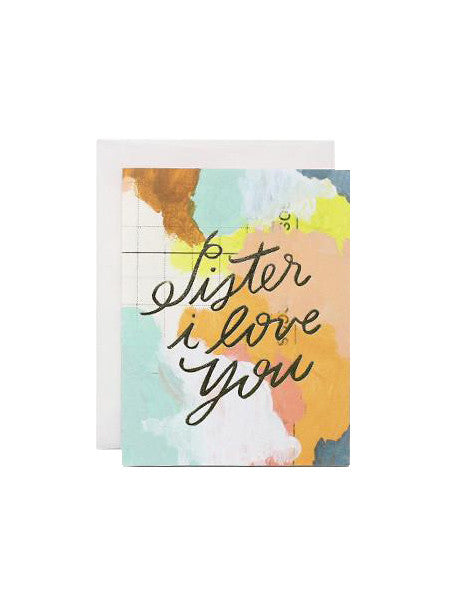 Moglea - Sister Love Card