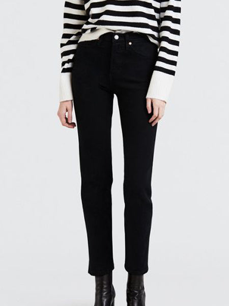 Levi's - Wedgie Straight Jean / Black Heart