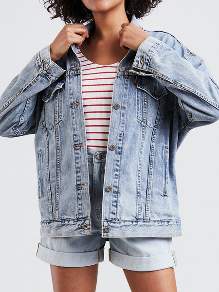 Levi's - Baggy Trucker Denim Jacket / True Life