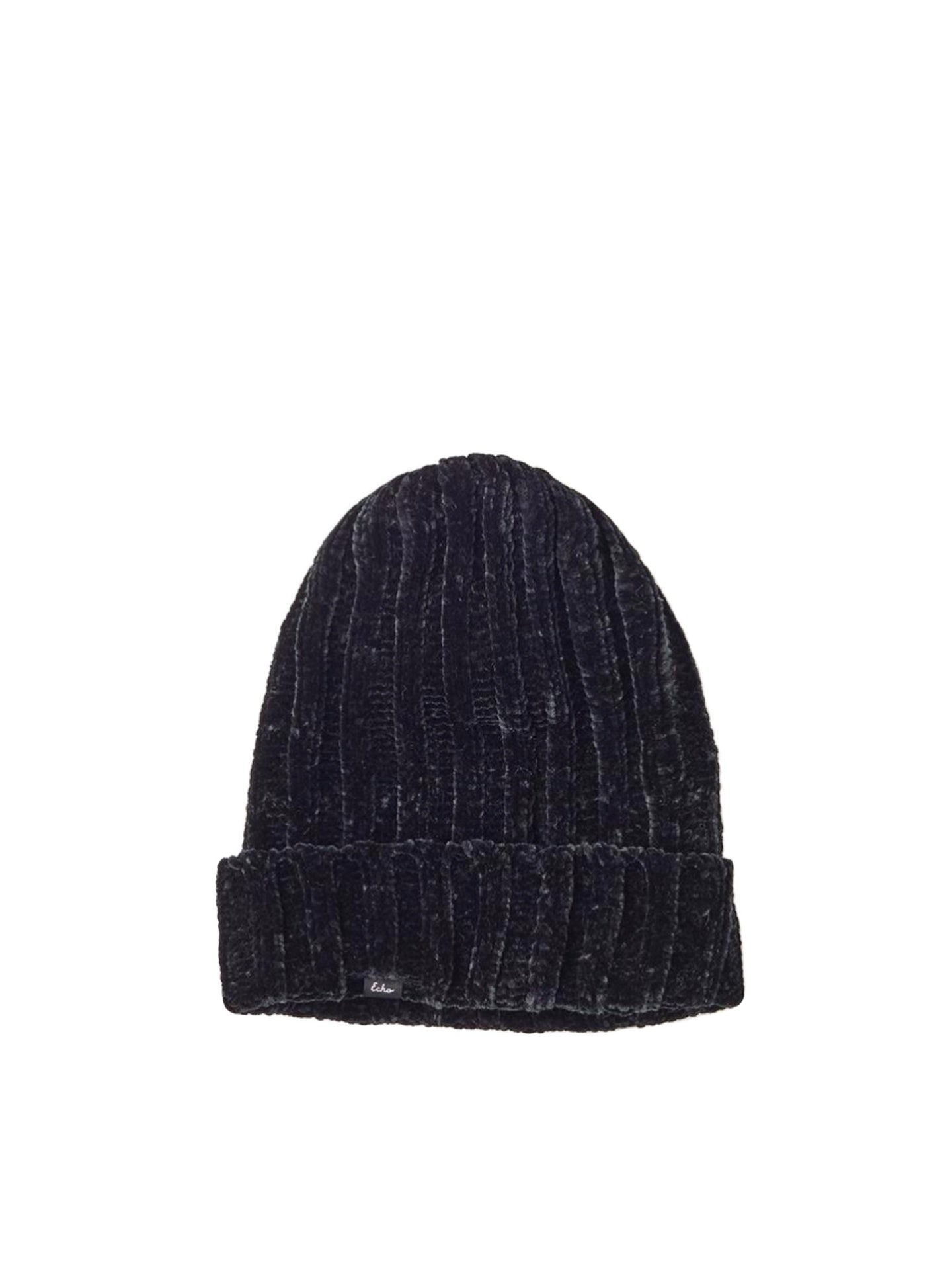 Echo - Chenille Hat / Black